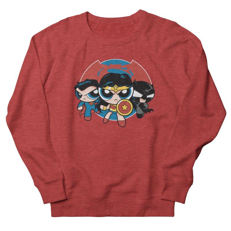 Powderpuff Trinity Men's French Terry Sweatshirt by foureyedesign's shop