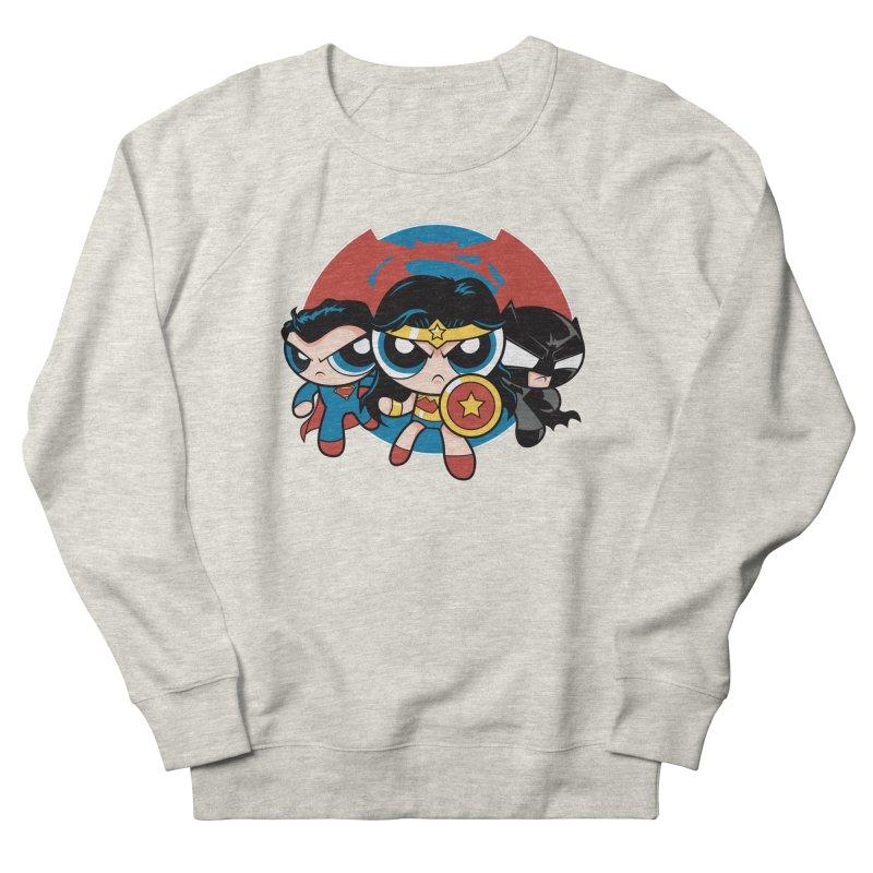 Powderpuff Trinity Men's Sweatshirt by foureyedesign's shop