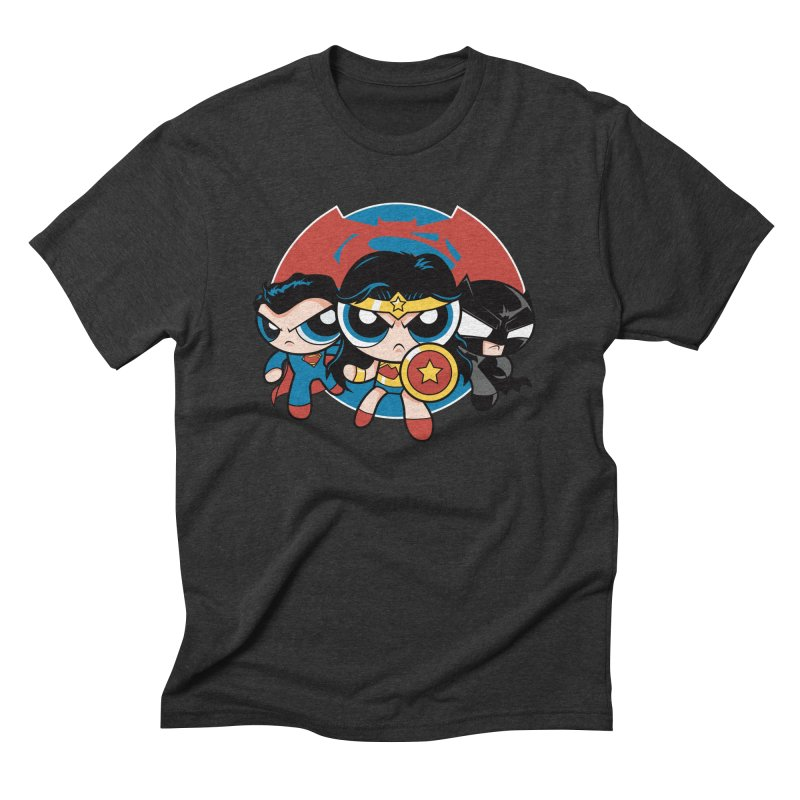 Powderpuff Trinity Men's Triblend T-Shirt by foureyedesign's shop