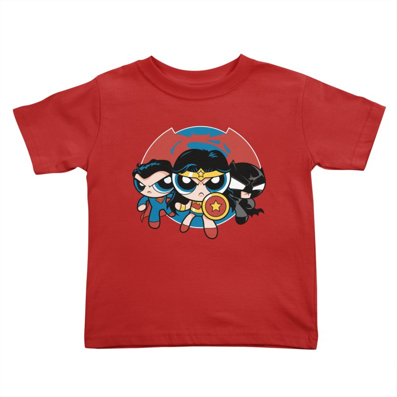 Powderpuff Trinity Kids Toddler T-Shirt by foureyedesign's shop