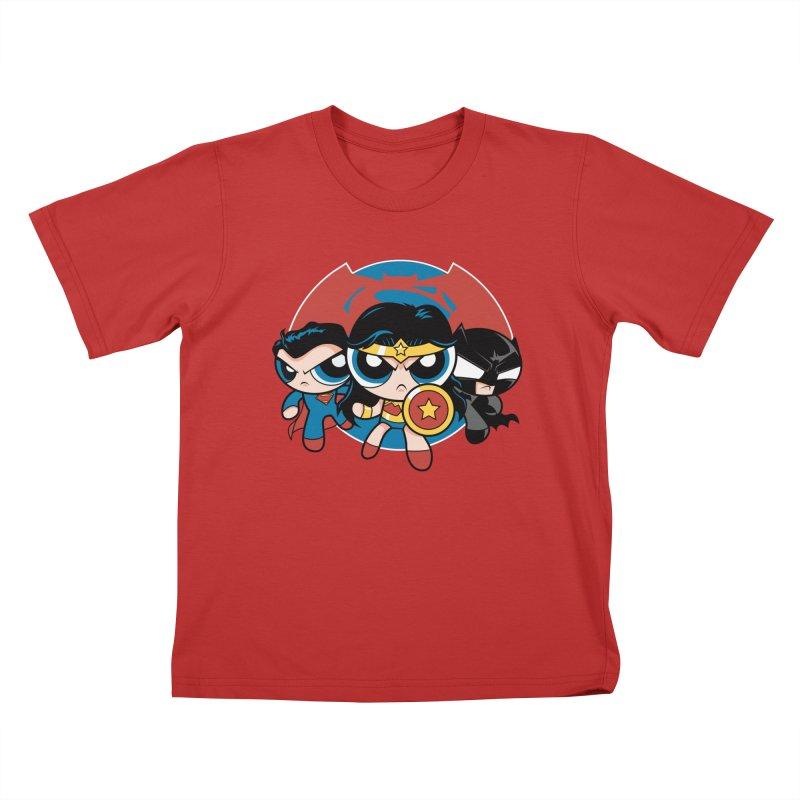 Powderpuff Trinity Kids  by foureyedesign's shop