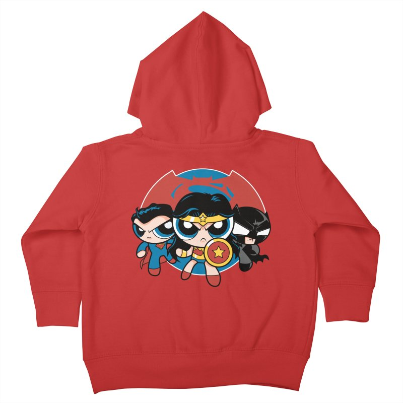 Powderpuff Trinity Kids Toddler Zip-Up Hoody by foureyedesign's shop