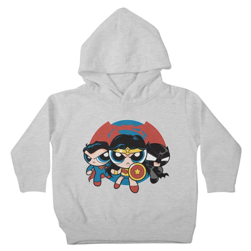 Powderpuff Trinity Kids Toddler Pullover Hoody by foureyedesign's shop