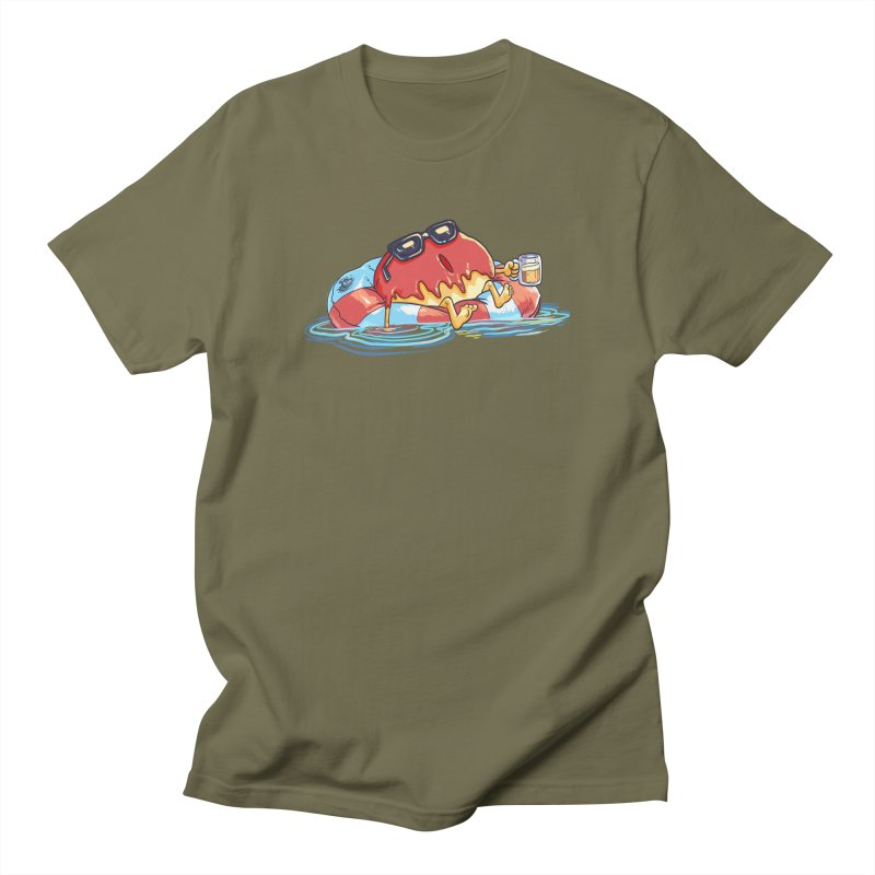 Donut's Day Off Men's T-Shirt by foursixsix's Artist Shop