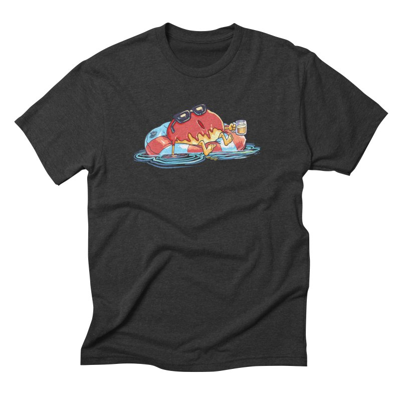 Donut's Day Off Men's Triblend T-Shirt by foursixsix's Artist Shop