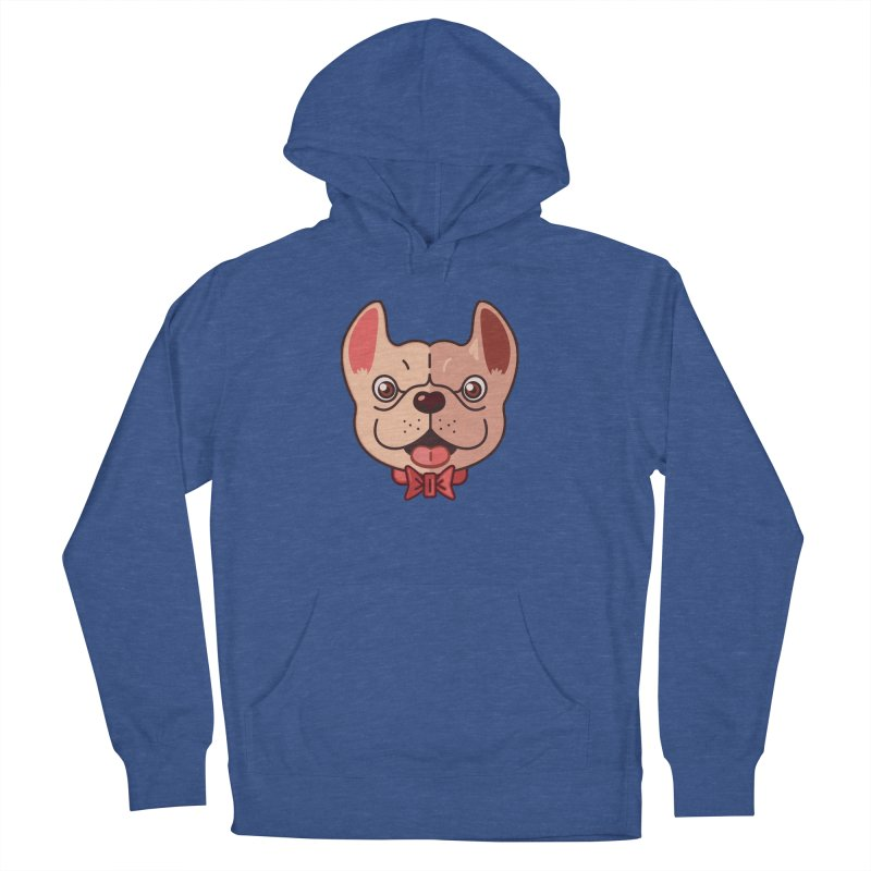 Dapper Frenchie Women's Pullover Hoody by foursixsix's Artist Shop