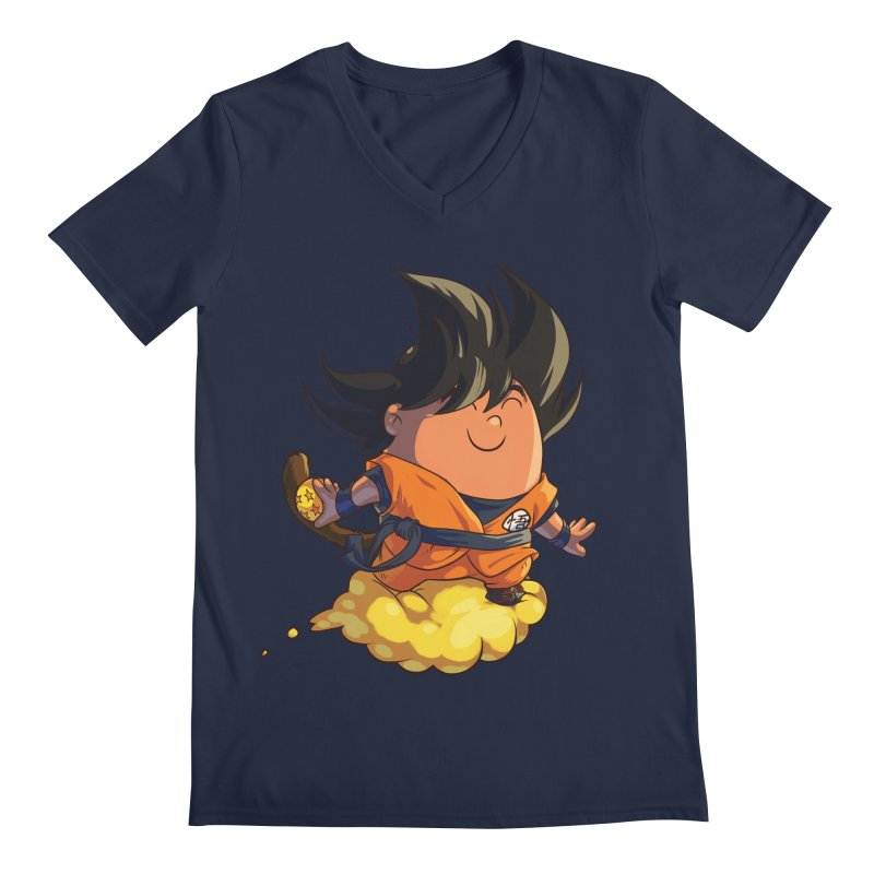 Little Carrot Men's V-Neck by foursixsix's Artist Shop
