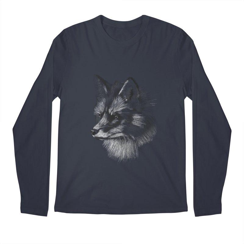 The Fox Men's Longsleeve T-Shirt by foxandeagle's Artist Shop
