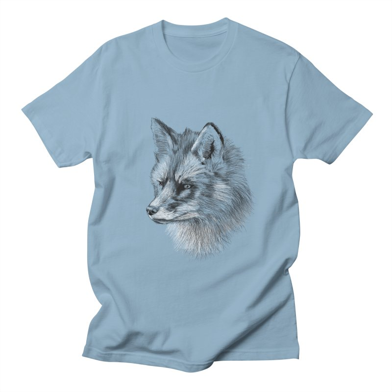 The Fox Men's T-Shirt by foxandeagle's Artist Shop