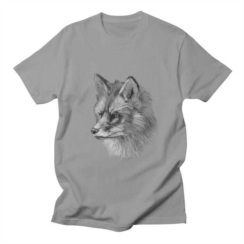 The Fox Men's T-Shirt by foxandeagle's Artist Shop