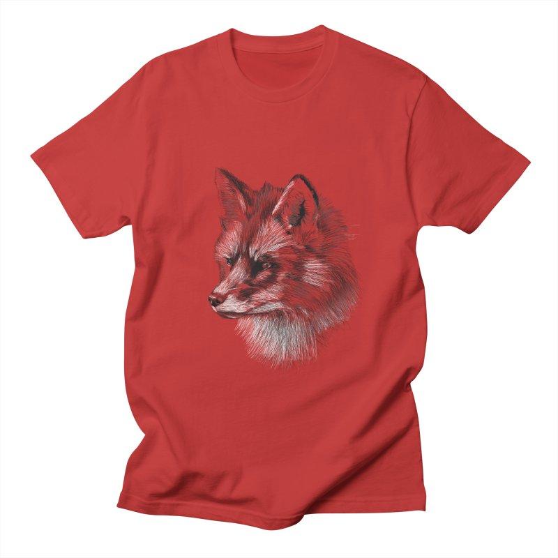 The Fox Men's Regular T-Shirt by foxandeagle's Artist Shop