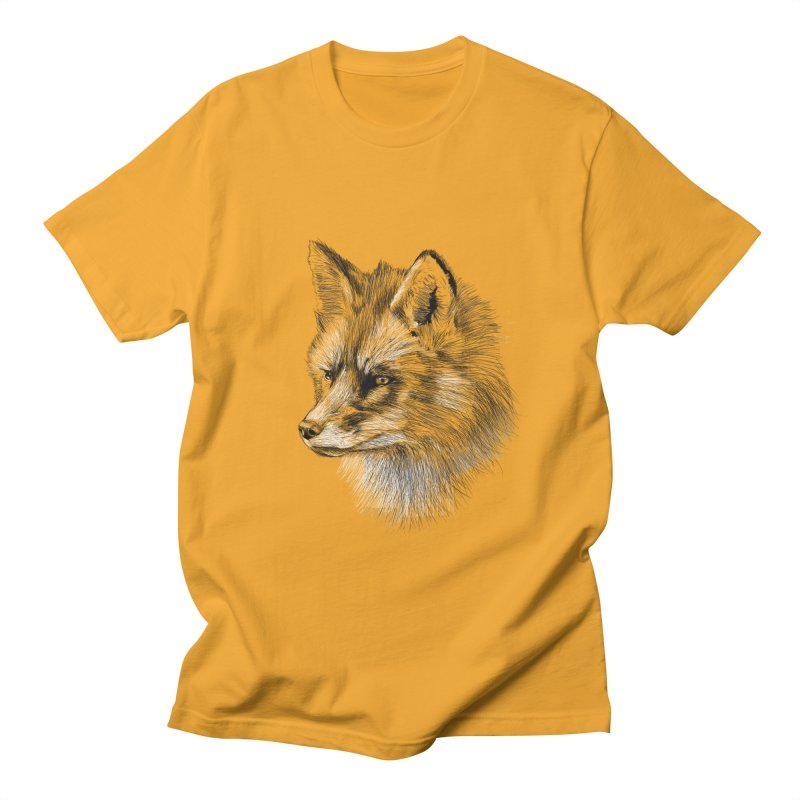 The Fox Women's Unisex T-Shirt by foxandeagle's Artist Shop
