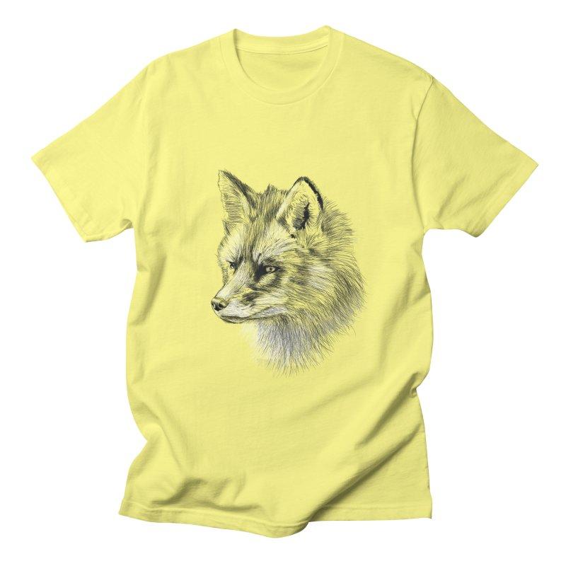 The Fox Women's Unisex T-Shirt by foxandeagle's Artist Shop