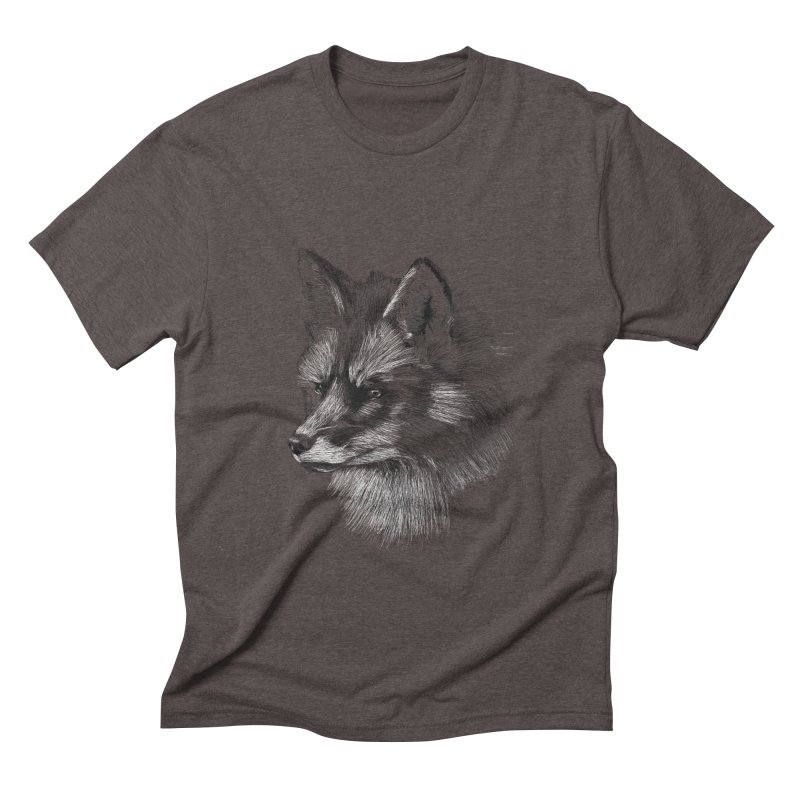 The Fox Men's Triblend T-Shirt by foxandeagle's Artist Shop