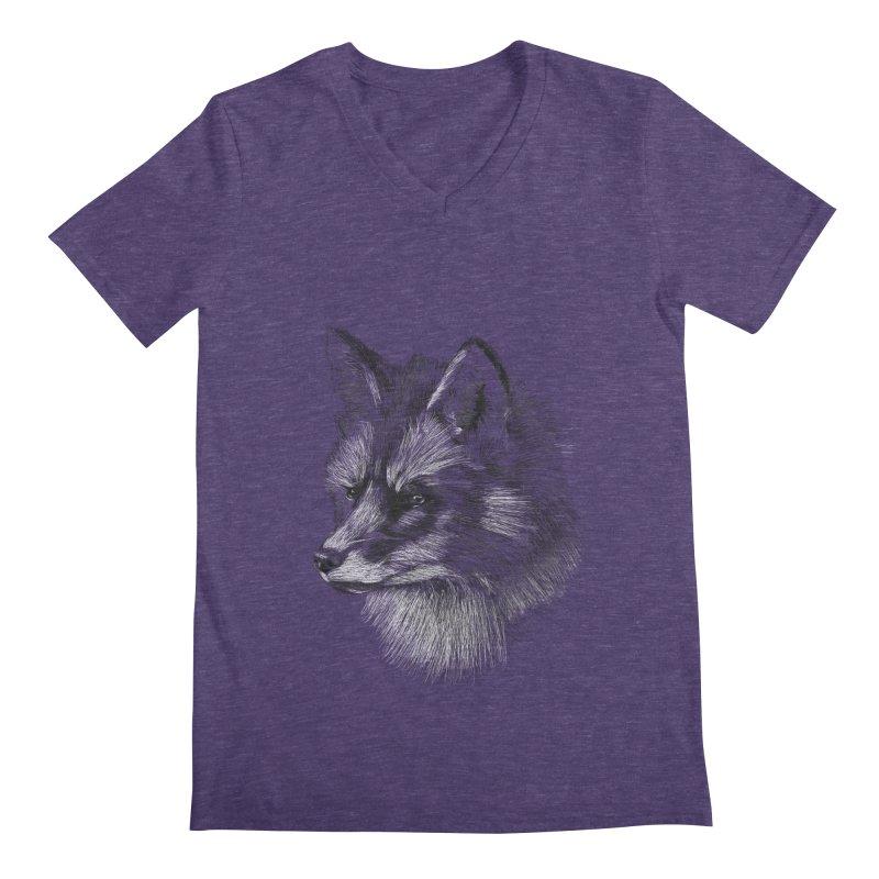 The Fox Men's Regular V-Neck by foxandeagle's Artist Shop