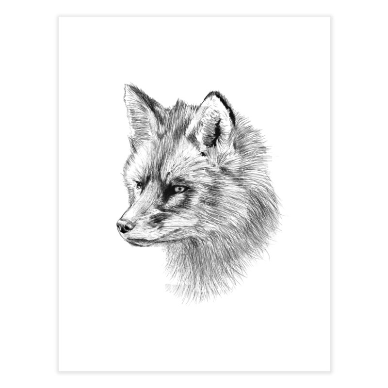 The Fox Home Fine Art Print by foxandeagle's Artist Shop