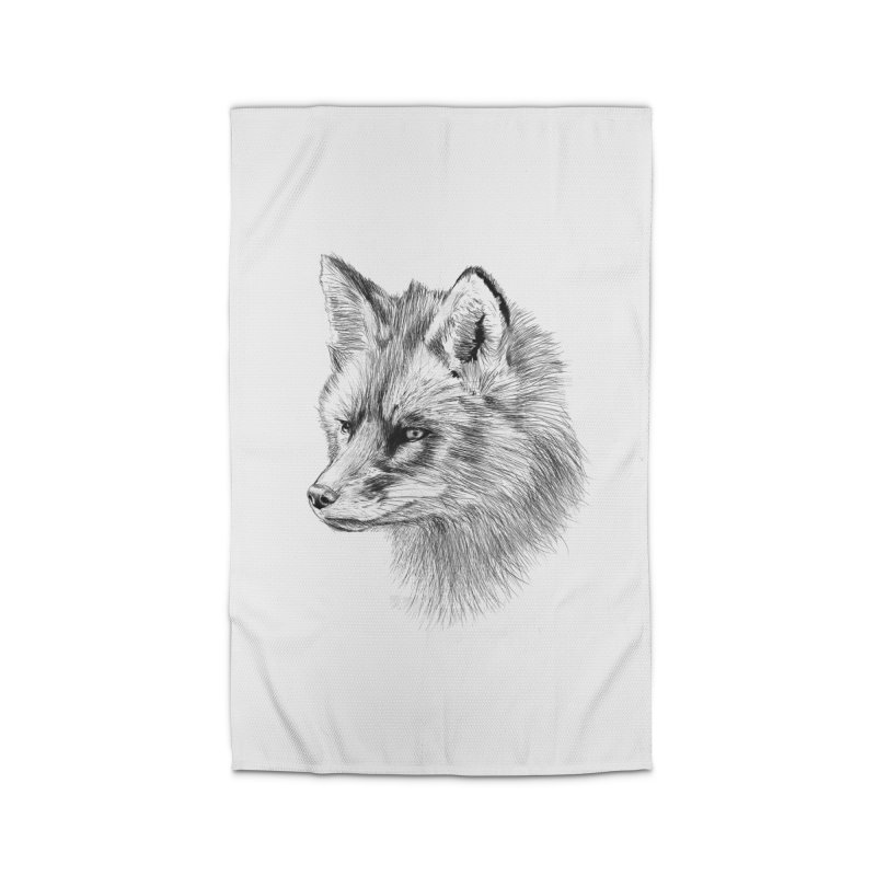 The Fox Home Rug by foxandeagle's Artist Shop