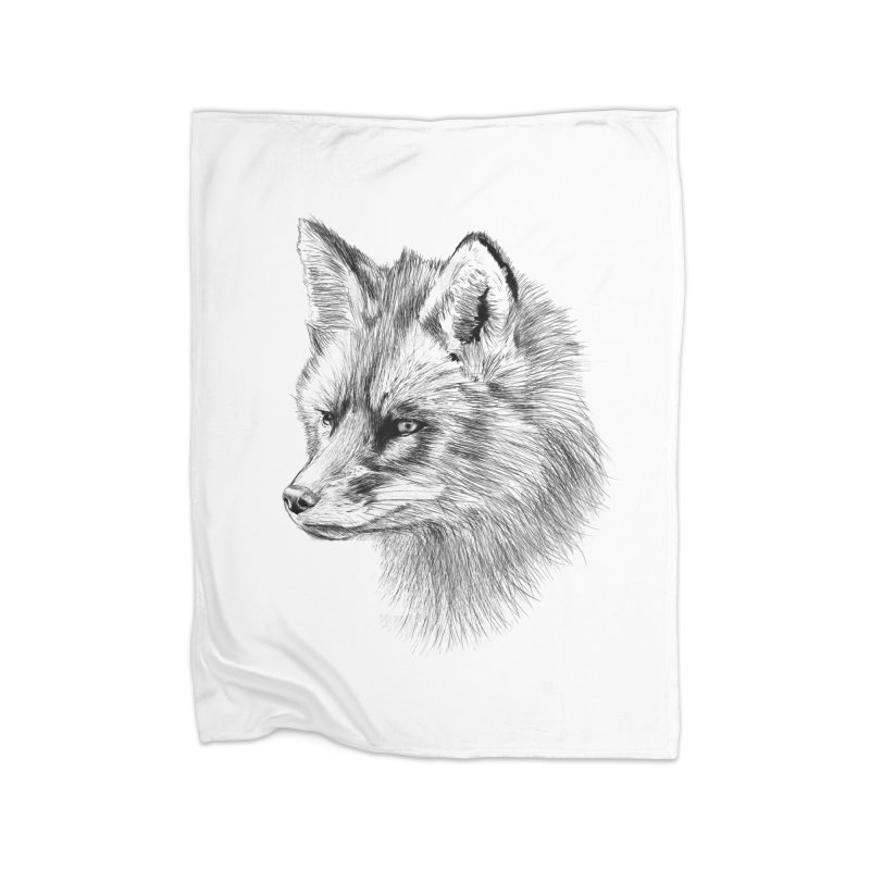 The Fox Home Blanket by foxandeagle's Artist Shop