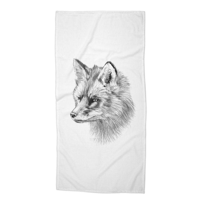 The Fox Accessories Beach Towel by foxandeagle's Artist Shop