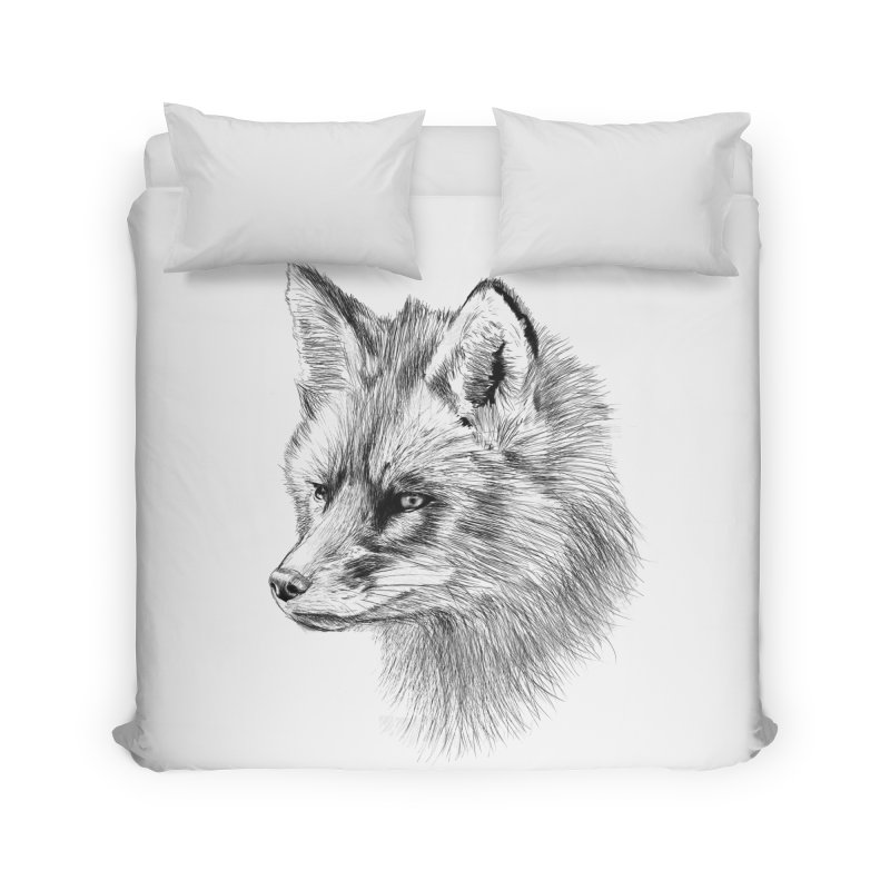 The Fox Home Duvet by foxandeagle's Artist Shop