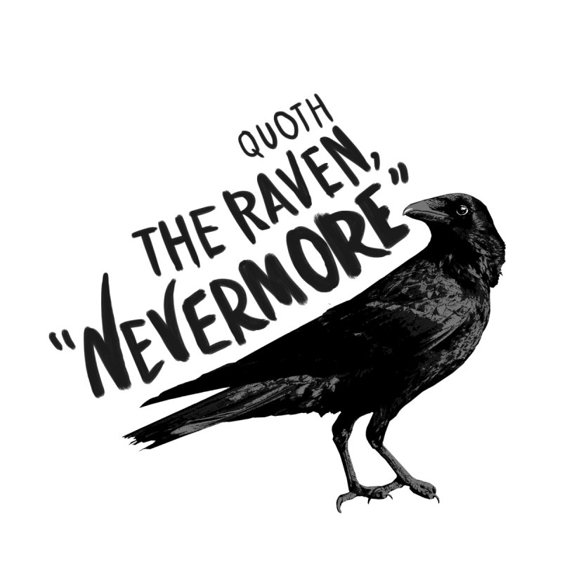 The Raven None  by foxandeagle's Artist Shop
