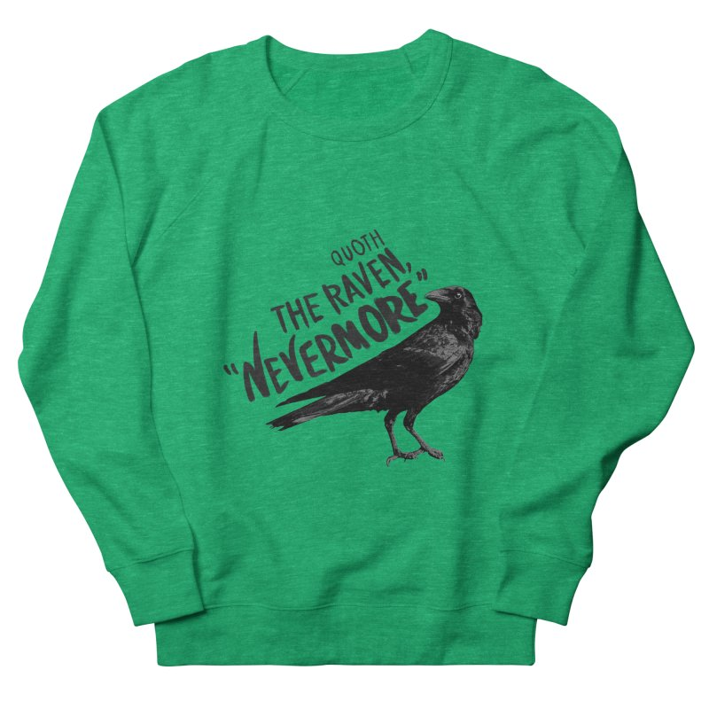 The Raven Women's Sweatshirt by foxandeagle's Artist Shop