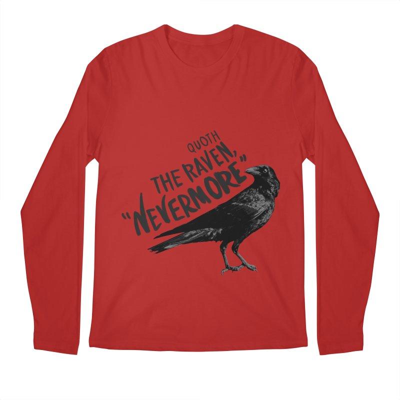 The Raven Men's Longsleeve T-Shirt by foxandeagle's Artist Shop
