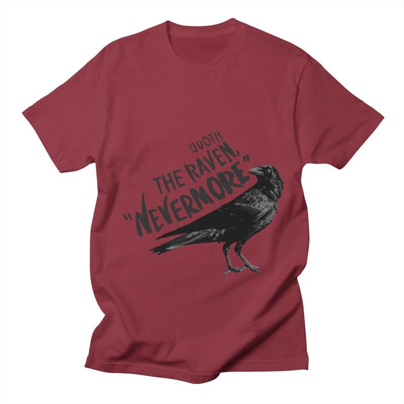 The Raven Women's Unisex T-Shirt by foxandeagle's Artist Shop