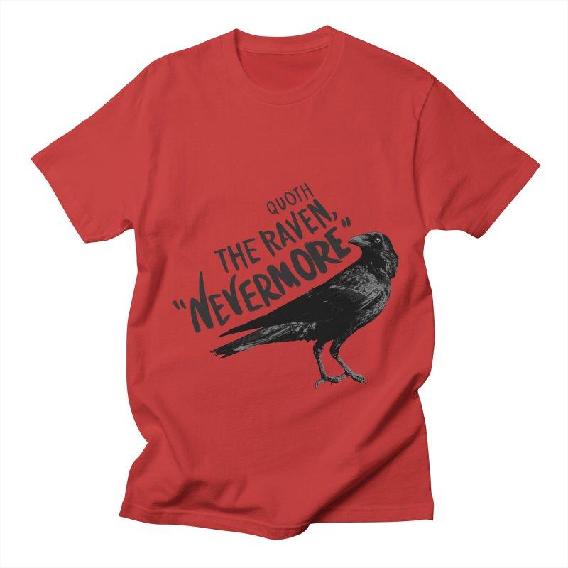 The Raven Women's Regular Unisex T-Shirt by foxandeagle's Artist Shop