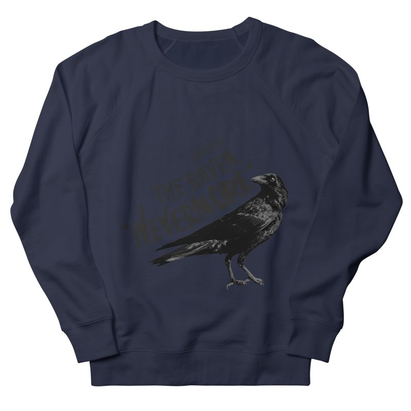 The Raven Men's Sweatshirt by foxandeagle's Artist Shop