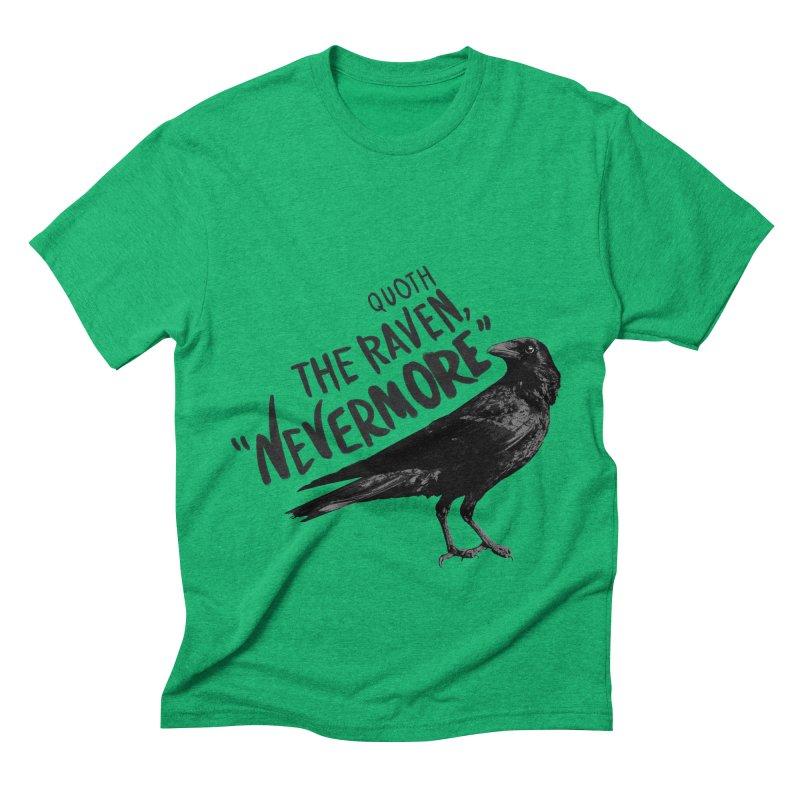 The Raven Men's Triblend T-Shirt by foxandeagle's Artist Shop
