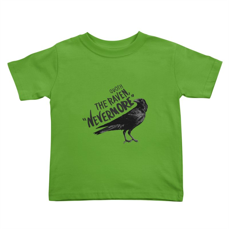 The Raven Kids Toddler T-Shirt by foxandeagle's Artist Shop