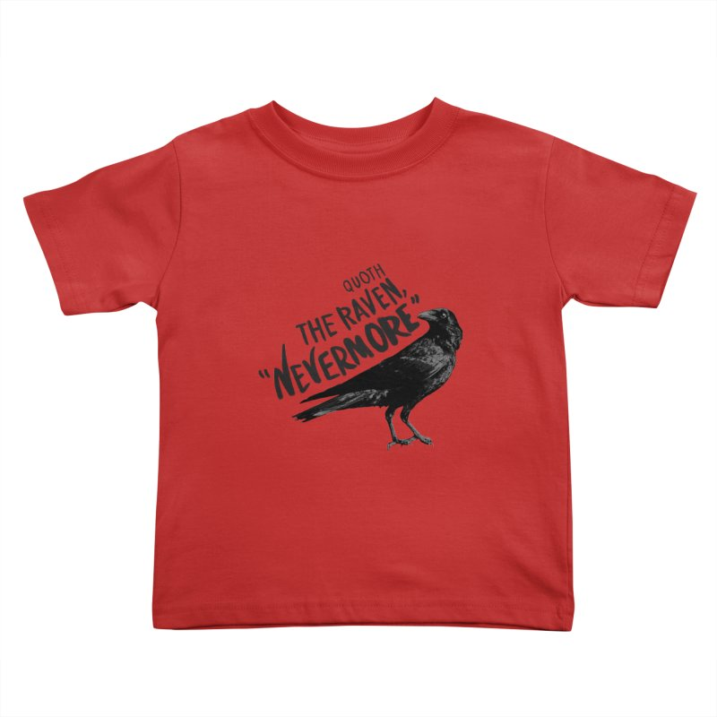 The Raven Kids Toddler T-Shirt by foxandeagle's Artist Shop