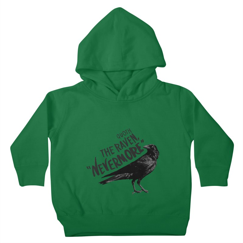The Raven Kids Toddler Pullover Hoody by foxandeagle's Artist Shop