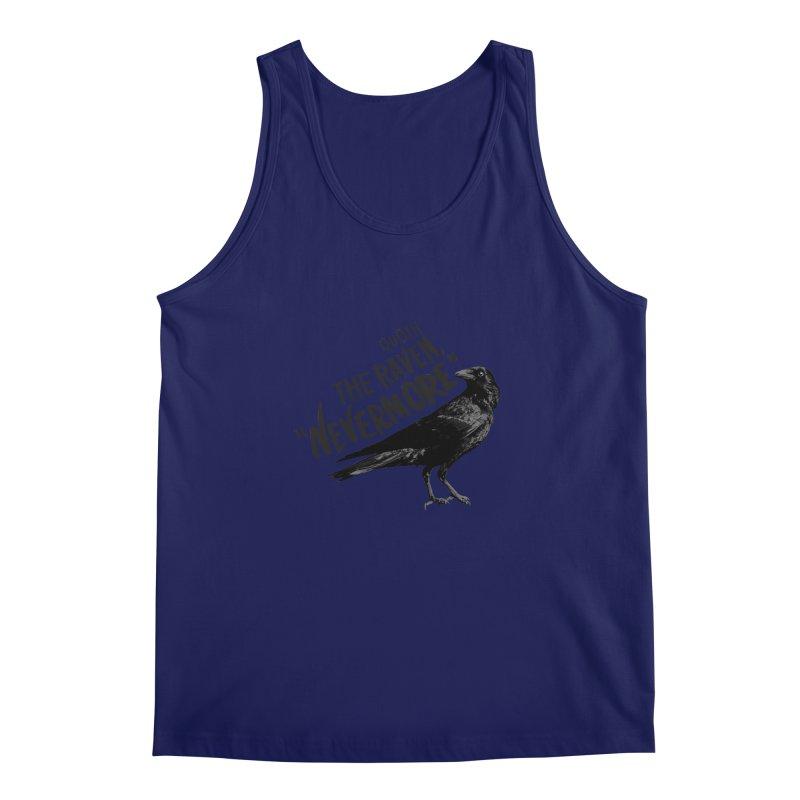 The Raven Men's Regular Tank by foxandeagle's Artist Shop