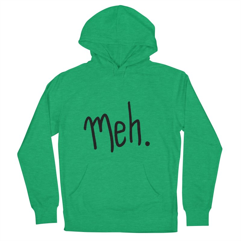 Meh Men's Pullover Hoody by foxandeagle's Artist Shop