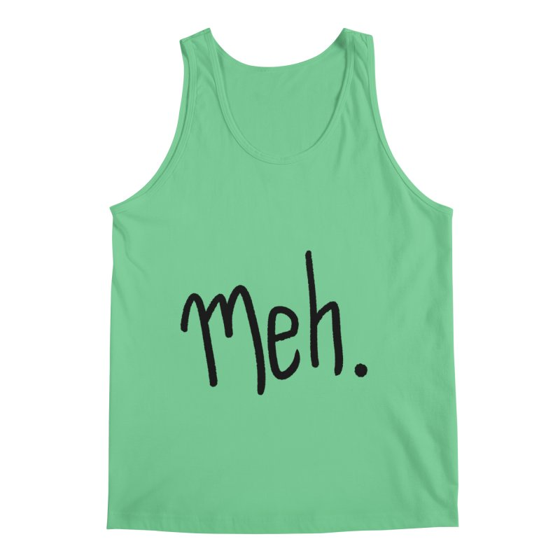 Meh Men's Regular Tank by foxandeagle's Artist Shop