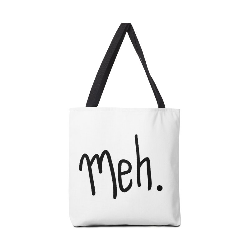 Meh Accessories Bag by foxandeagle's Artist Shop