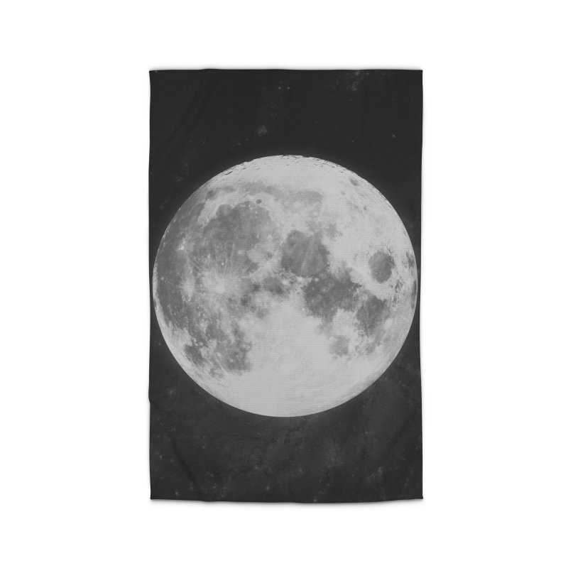 The Moon Home Rug by foxandeagle's Artist Shop