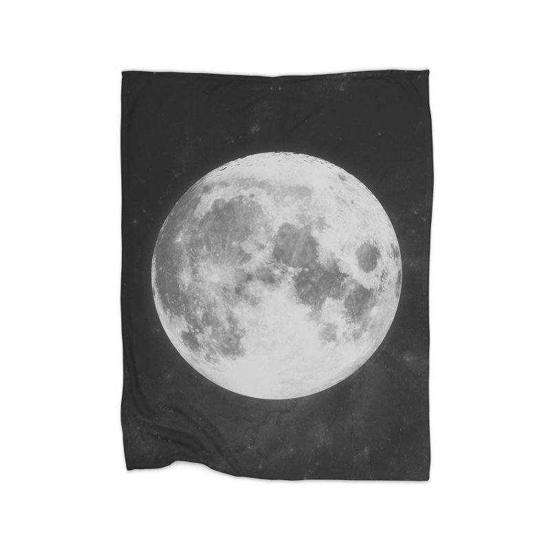 The Moon Home Blanket by foxandeagle's Artist Shop