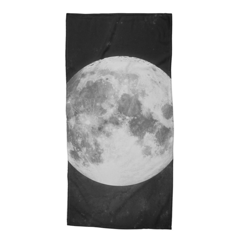 The Moon Accessories Beach Towel by foxandeagle's Artist Shop