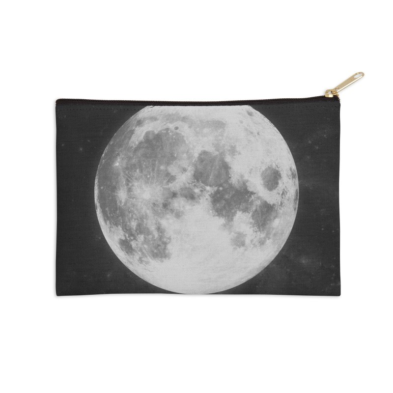 The Moon Accessories Zip Pouch by foxandeagle's Artist Shop