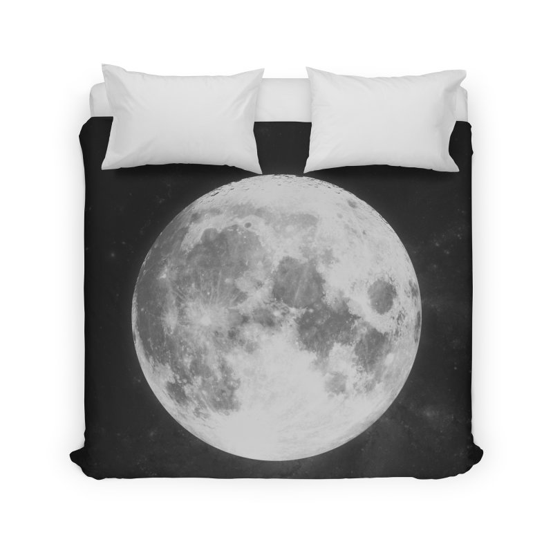 The Moon Home Duvet by foxandeagle's Artist Shop