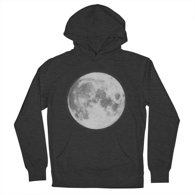 The Moon Women's French Terry Pullover Hoody by foxandeagle's Artist Shop
