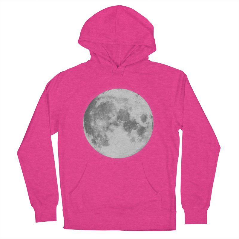 The Moon Women's Pullover Hoody by foxandeagle's Artist Shop