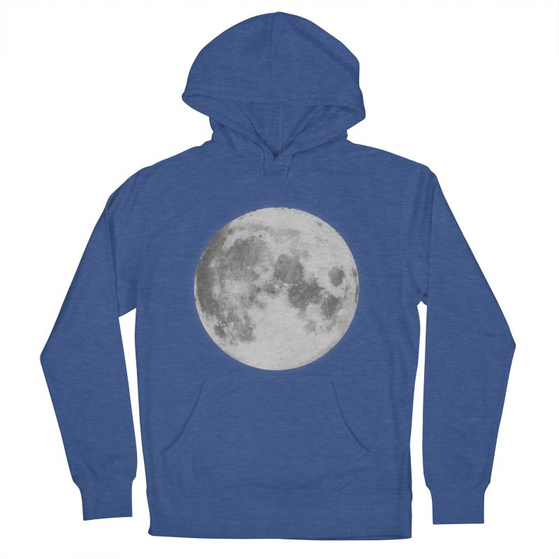 The Moon Men's Pullover Hoody by foxandeagle's Artist Shop