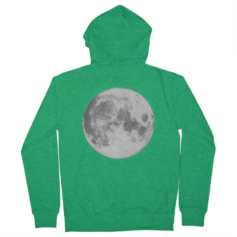 The Moon Women's Zip-Up Hoody by foxandeagle's Artist Shop