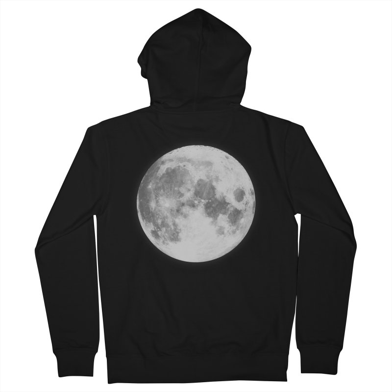 The Moon Men's Zip-Up Hoody by foxandeagle's Artist Shop