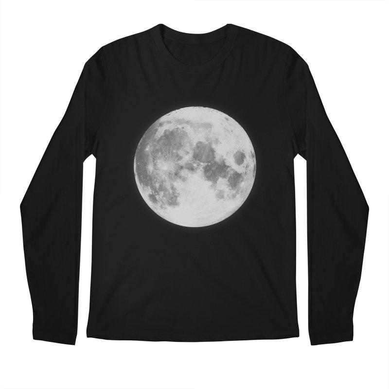 The Moon Men's Regular Longsleeve T-Shirt by foxandeagle's Artist Shop