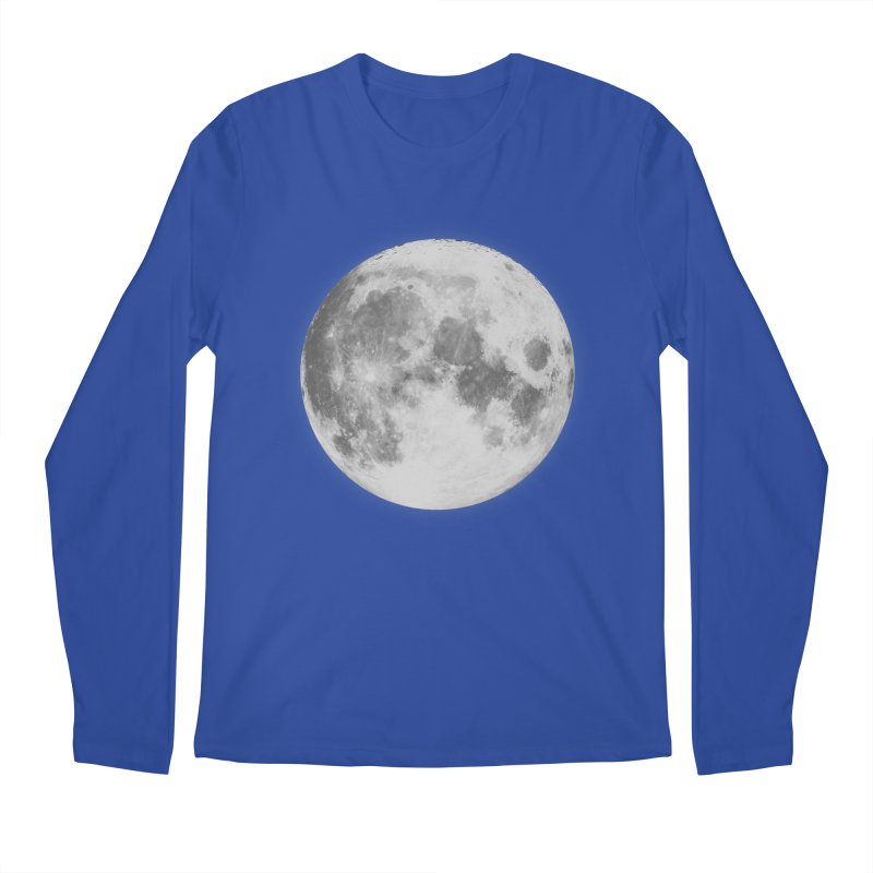 The Moon Men's Regular Longsleeve T-Shirt by foxandeagle's Artist Shop